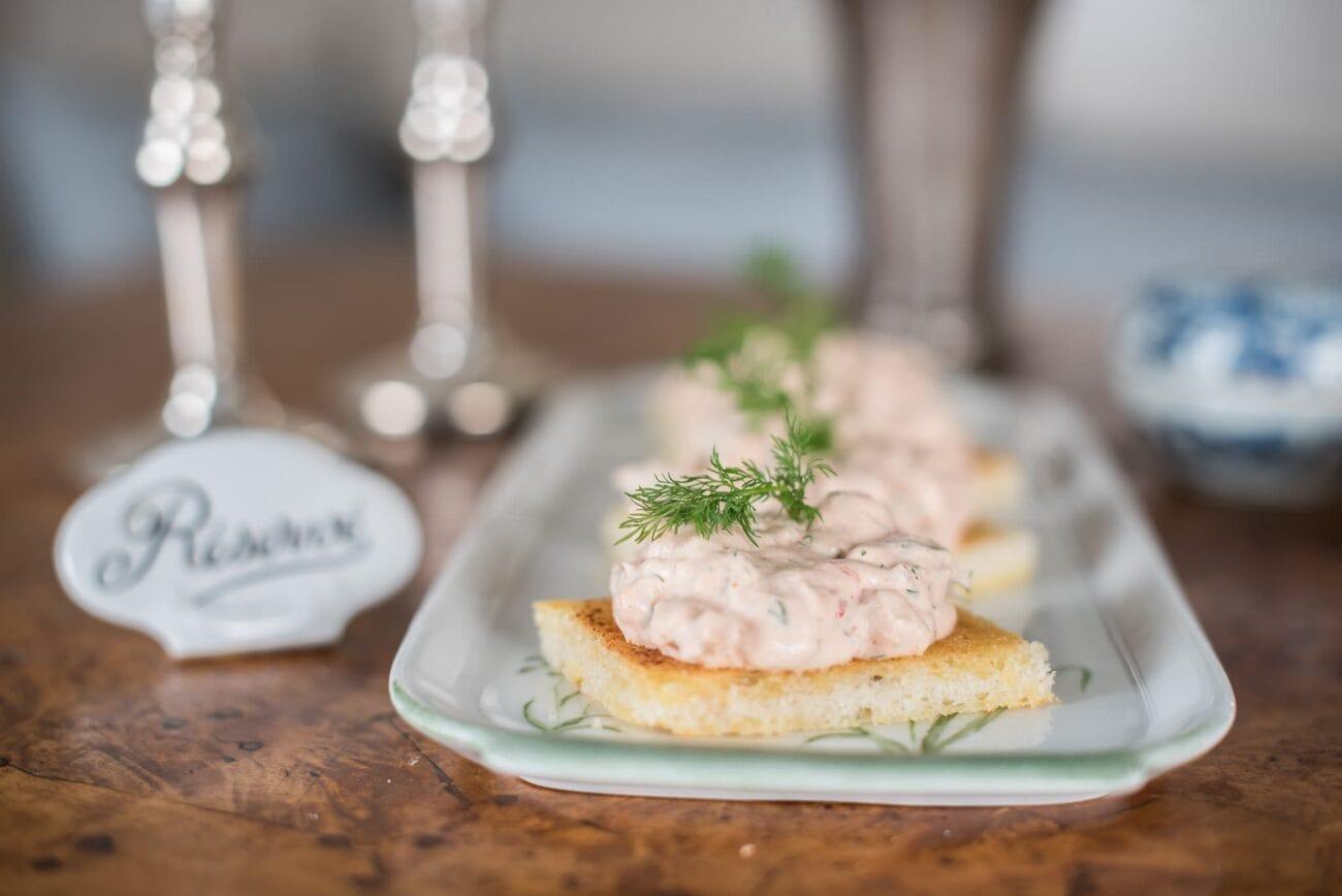 Räkor Toast Skagen, Fritz special