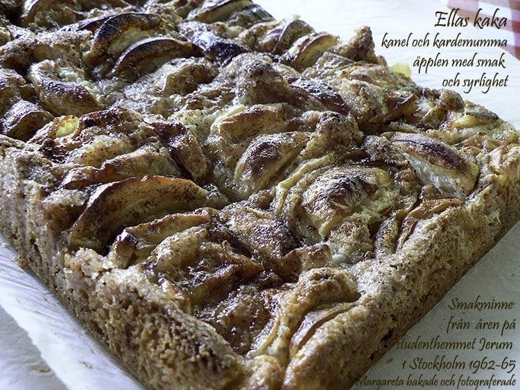Ellas kaka – Äppelkakan från Jerum