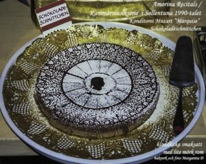 Recept på Marquise d'Armagnac Fransk chokladtårta.