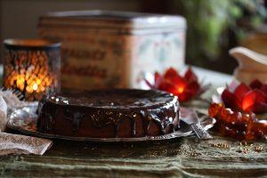 Recept på Holländsk chokladtårta.