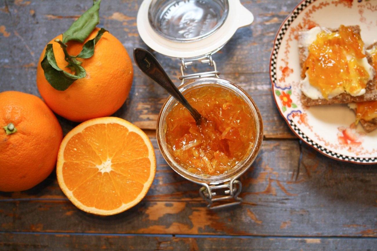 Finaste apelsinmarmelad.