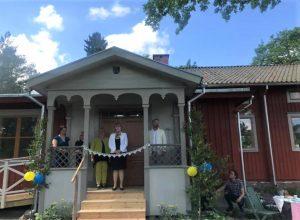 Återinvigningen av bygdegården i Tärna den 8 juni 2019.