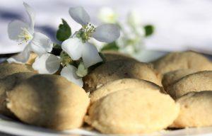 Äppleblommorna är som en hägring med ett löfte om våren.
