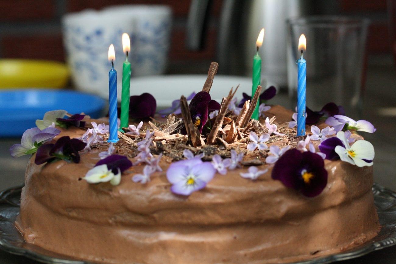 Mammas berömda chokladtårta