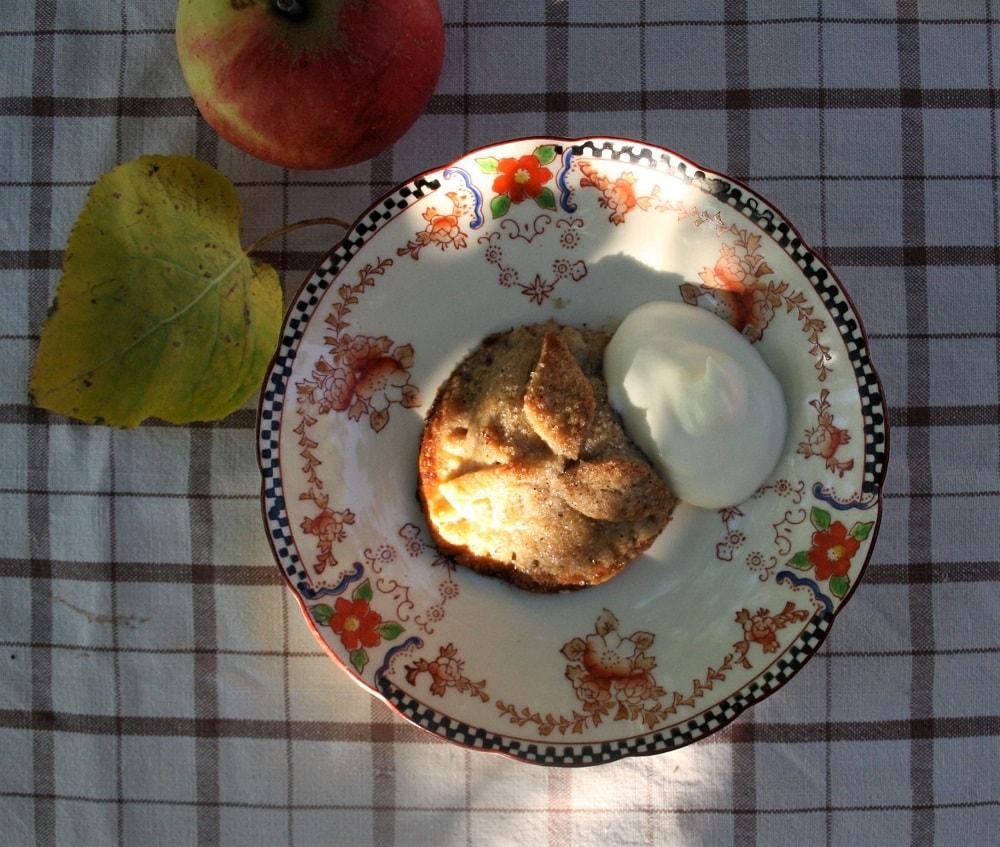 Äppelbakelser – söta och spröda