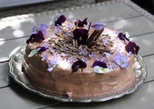 Recept på Mammas berömda chokladtårta