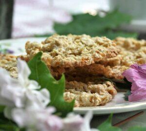 Recept på kakor av Hafregryn, ett 1800-tals recept.