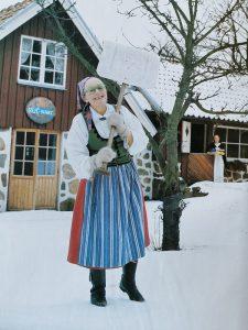 Rut Lundgren Frisk, bild tagen av Fotograf Jan Tennek