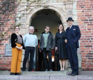 Middag på Salnecke slott med Fjärdhundraland, Vintagemannen och Smakminnen.