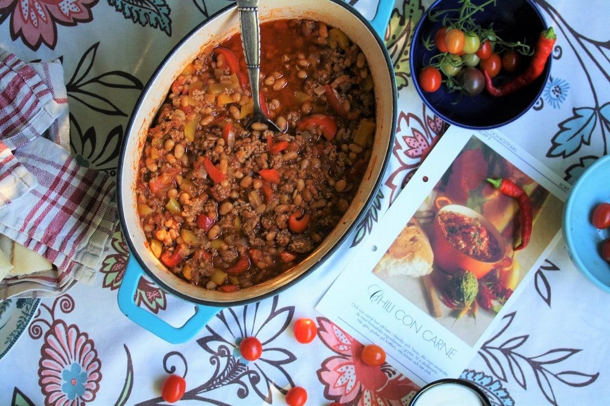 Chili con carne – en värmande vardagsrätt