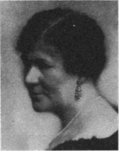 Jenny Åkerström, som skrev Prinsessornas kokbok 1929